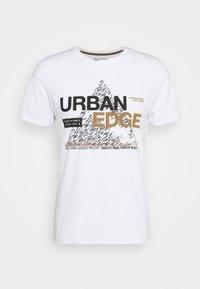 Jack & Jones - JCOBOOSTER TEE CREW NECK - T-Shirt print - white - 3