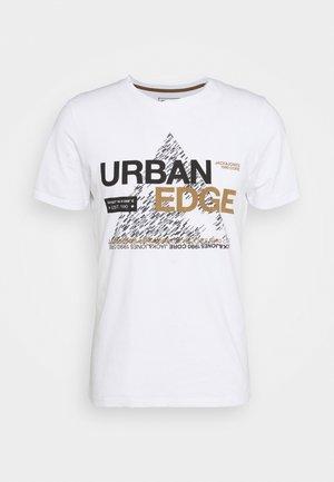 JCOBOOSTER TEE CREW NECK - Print T-shirt - white