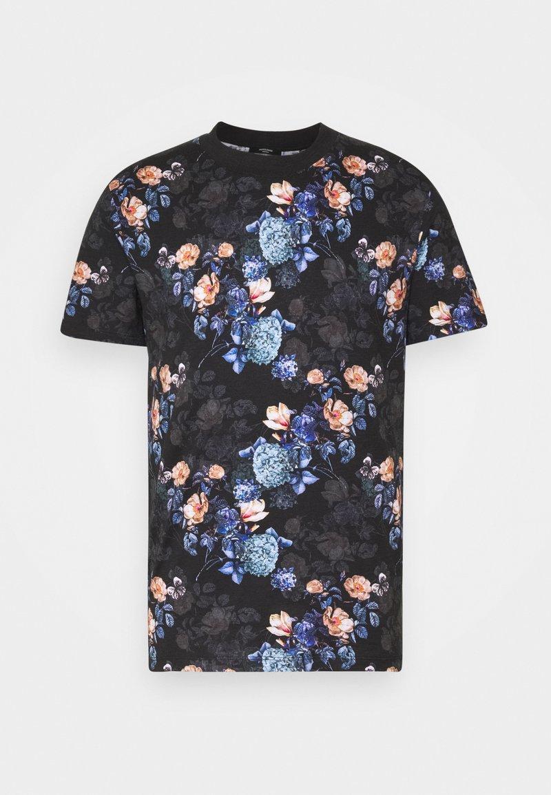 Jack & Jones PREMIUM - JPRBLAVINCENT TEE CREW NECK - T-shirt med print - black