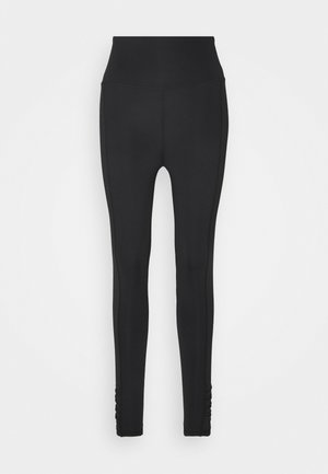 LOVE YOU A LATTE - Legging - black