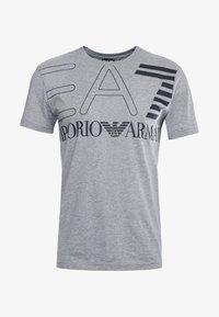 EA7 Emporio Armani - T-shirt z nadrukiem - light grey melange - 3