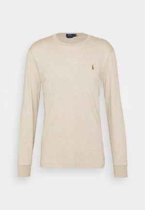 PIMA - Long sleeved top - tuscan beige heather