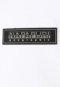 Napapijri The Tribe - PATCH UNISEX - Print T-shirt - bright white - 7