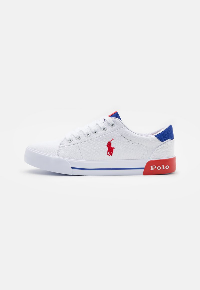 Polo Ralph Lauren - GRAFTYN UNISEX - Trainers - white/royal/red