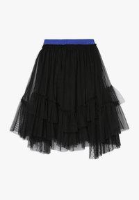 Pinko Up - BAMBINAIA GONNA PLUMETIS - A-line skirt - black - 1