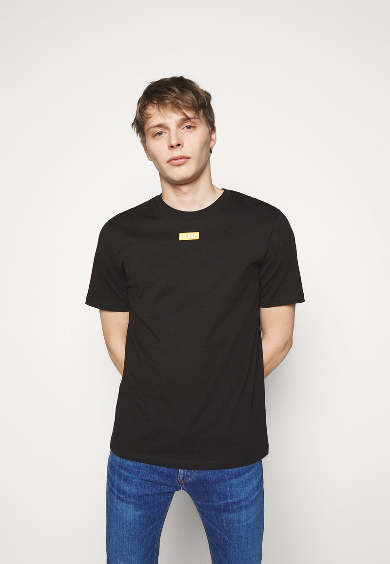 HUGO - DURNED - Basic T-shirt - black
