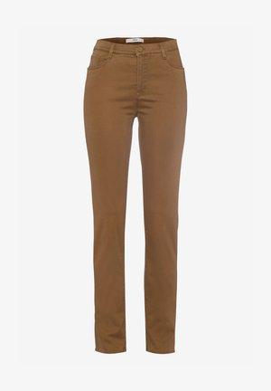 Slim fit jeans - walnut