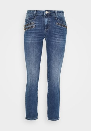 BERLIN RE-LOVED - Slim fit jeans - light blue