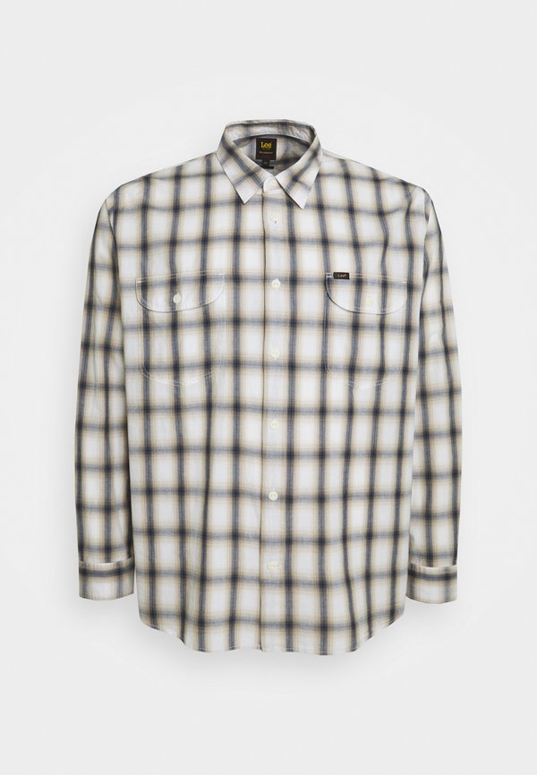 Lee WORKER SHIRT - Koszula - service sand/mleczny Odzież Męska YKLX