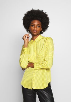 FASTINE CIRCLE  - Button-down blouse - green leaf