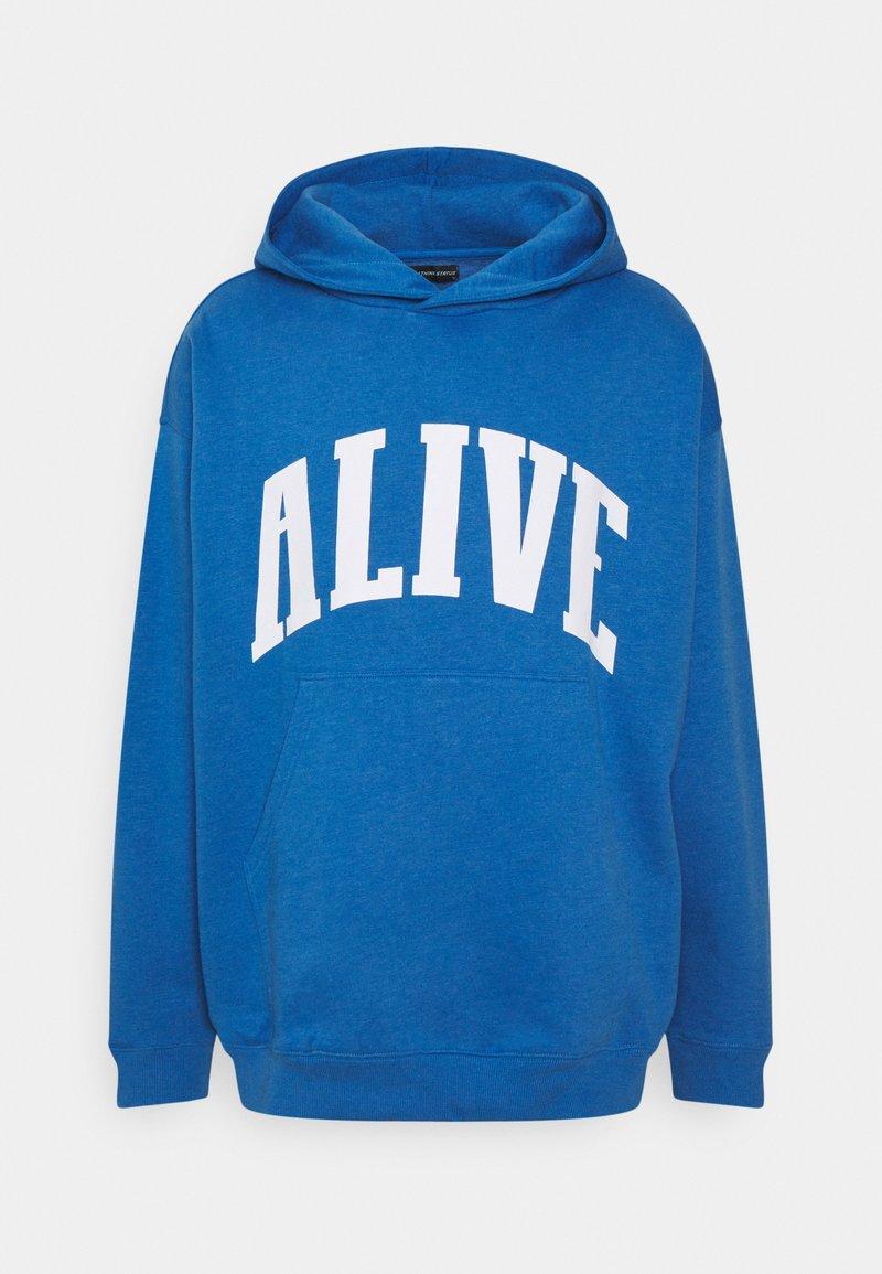 RETHINK Status - HOODY UNISEX  - Sweatshirt - palace blue