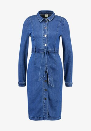 VMKATE SHIRT DRESS - Denimové šaty - medium blue denim