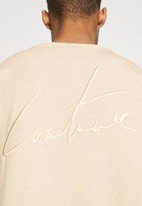 The Couture Club - OVERSIZED - Print T-shirt - ecru - 5
