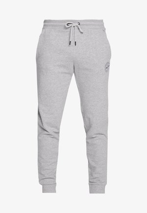 JJIGORDON JJSHARK PANTS  - Pantalones deportivos - light grey melange