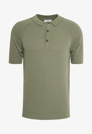 Polo shirt - soft khaki