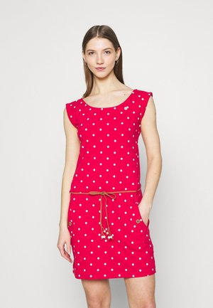 TAG DOTS - Etuikjole - red