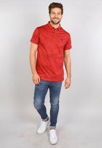 Gabbiano - Polo shirt - rusty red - 1