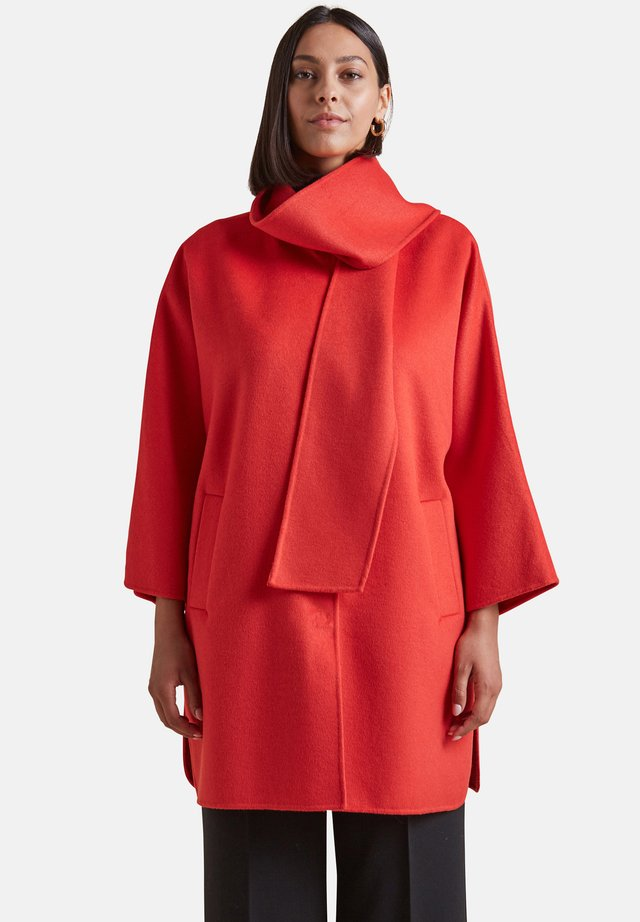 Classic coat - rosso