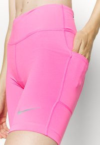 Nike Performance - FAST  - Tights - pink glow/silver - 4