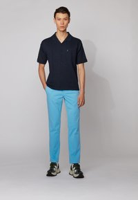 BOSS - REGULAR FIT - Trousers - turquoise - 1