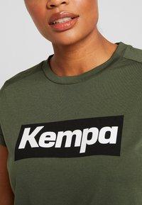Kempa - LAGANDA WOMEN - T-shirts print - deep green - 5