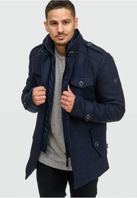 INDICODE JEANS - BRANDAN - Short coat - dark blue - 3