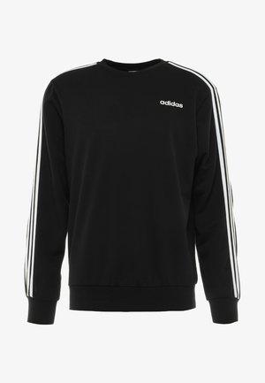 Essentials 3-Stripes Sweatshirt - Collegepaita - black/white