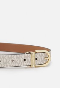MICHAEL Michael Kors - REVERSIBLE BELT - Cintura - luggage gold - 3