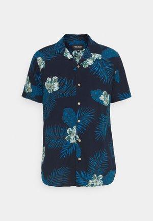 CEDAR PRINT - Shirt - navy