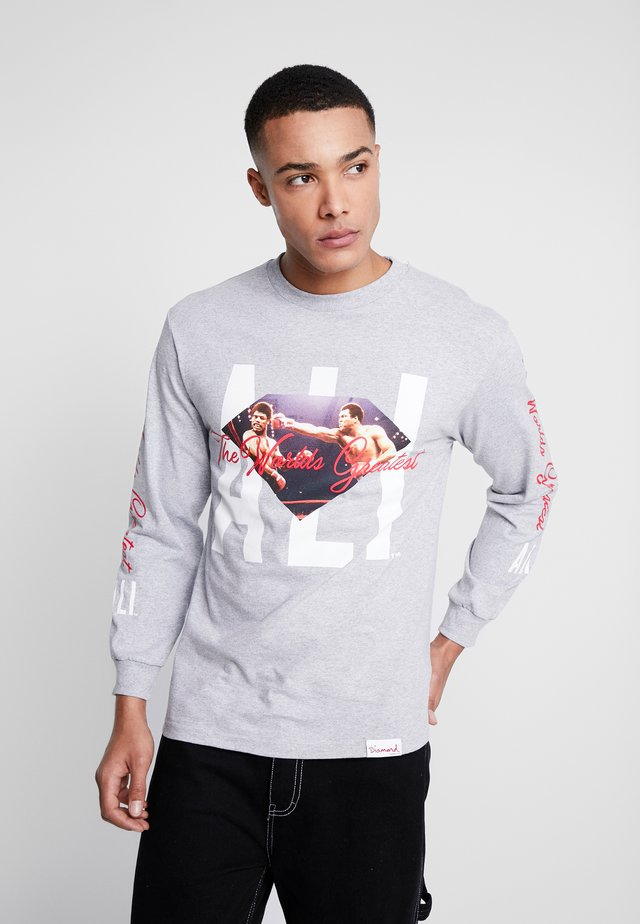 ALI SIGN LONG SLEEVE TEE - Long sleeved top - grey