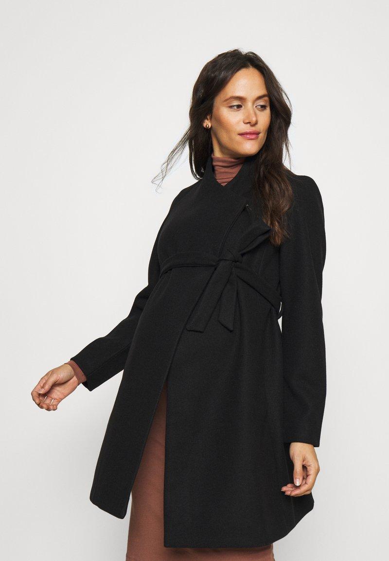 MAMALICIOUS - MLNEWROXY COAT - Short coat - black