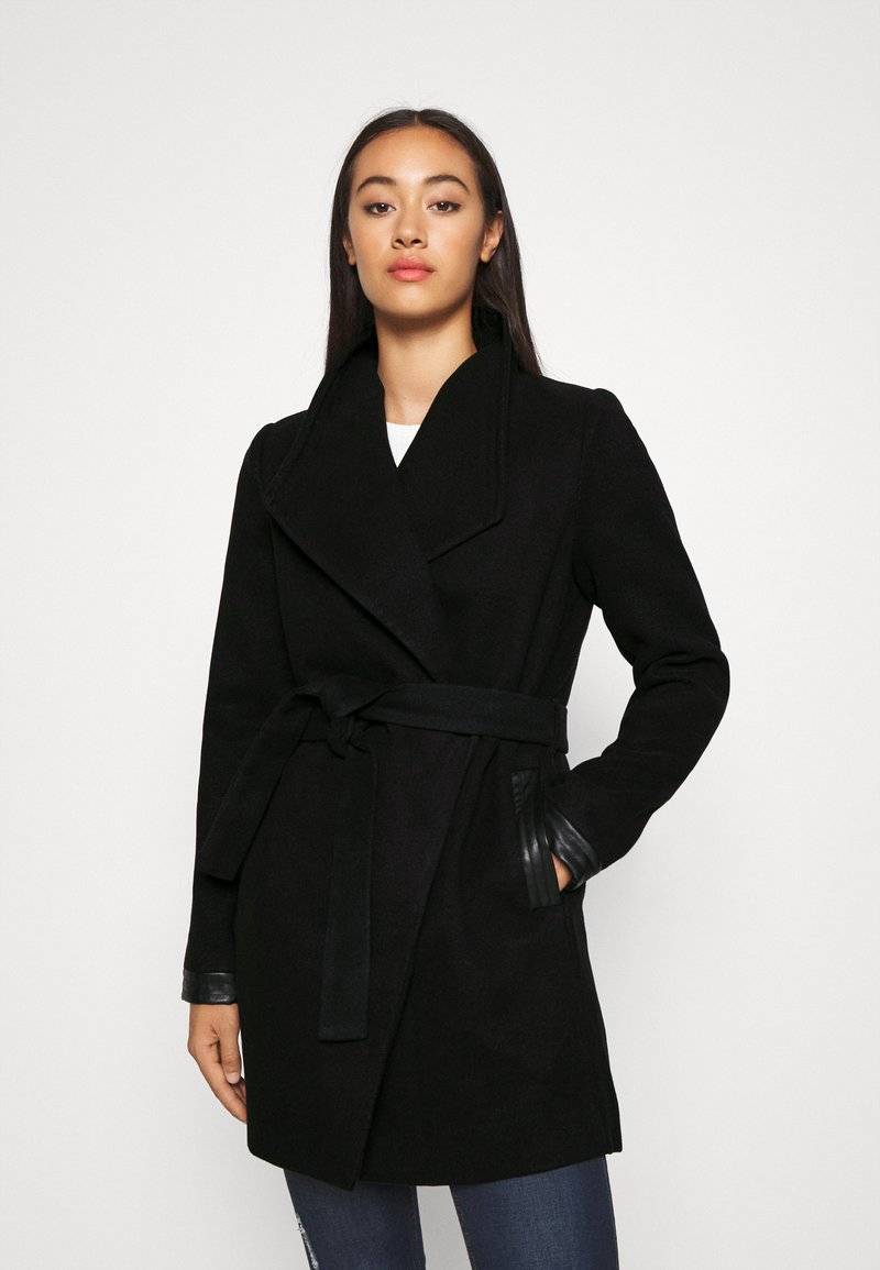 Vero Moda - VMCALASISSEL JACKET - Krótki płaszcz - black