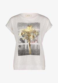 Cartoon - Print T-shirt - white/gold - 3