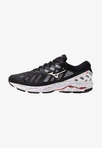 Mizuno - WAVE ULTIMA 11 - Neutral running shoes - white/black - 0
