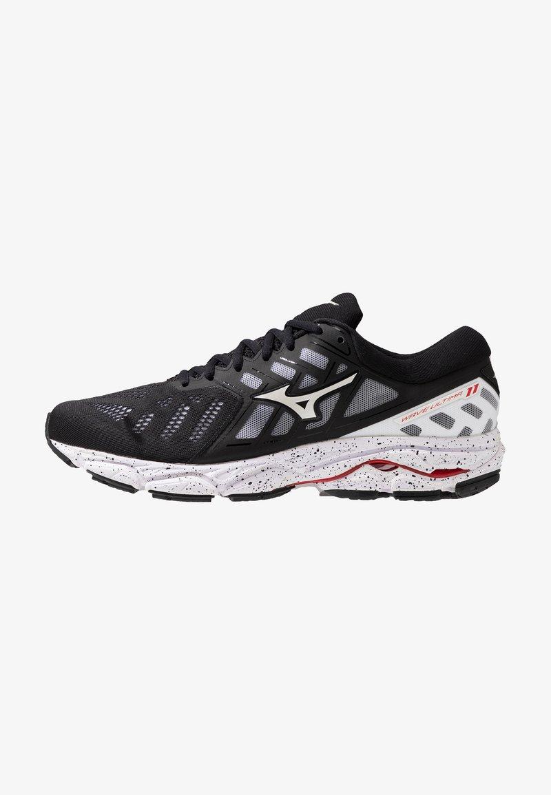 Mizuno - WAVE ULTIMA 11 - Neutral running shoes - white/black