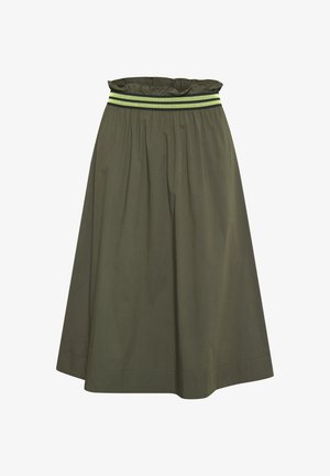 KANARVA - A-line skirt - grape leaf
