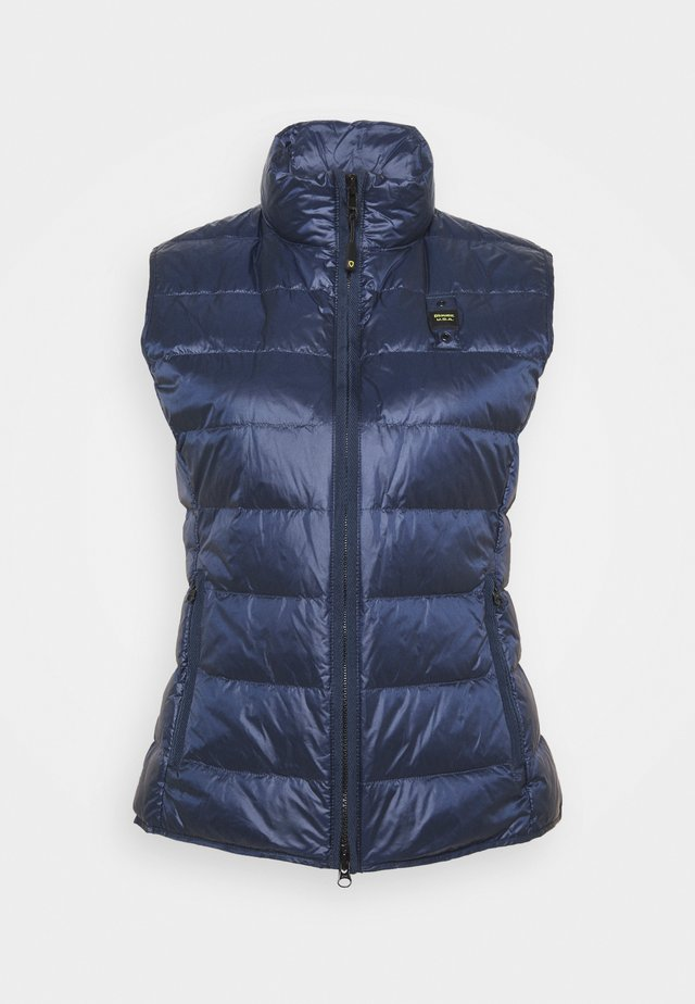 BASIC VEST - Bodywarmer - navy