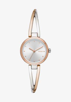 CROSSWALK - Watch - silver, rose gold