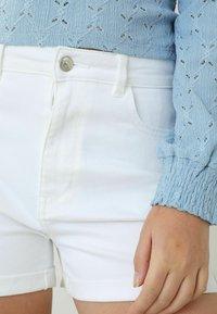 Pimkie - Denim shorts - weiß - 3