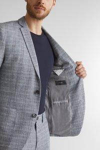Esprit Collection - OCS LIMIX CHECK - Blazer jacket - blue 3 - 3