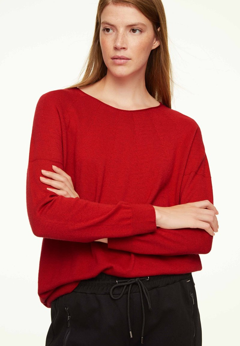 comma casual identity - Jumper - scarlet red