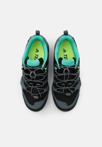 adidas Performance - TERREX SWIFT R2 GORE-TEX - Fjellsko - core black/blue/mint - 3