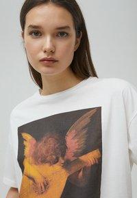 PULL&BEAR - T-shirts print - white - 3