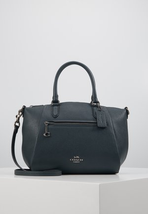 POLISHED ELISE SATCHEL - Kabelka - pine green