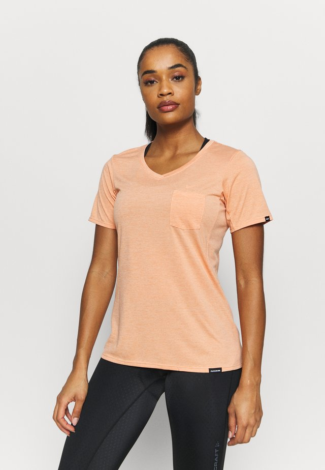 CADENCE - T-shirt print - papaya