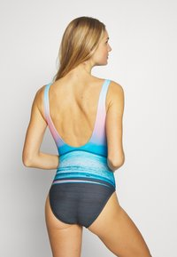 Speedo - Swimsuit - blue/light blue/pink - 2