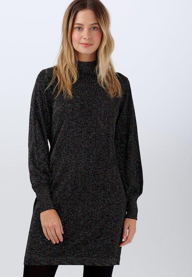JULIETA RAINBOW SPANGLED - Jumper dress - black