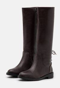 Trendyol - Vysoká obuv - brown - 2
