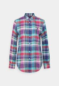 Polo Ralph Lauren - PLAID - Button-down blouse - pink/blue - 7