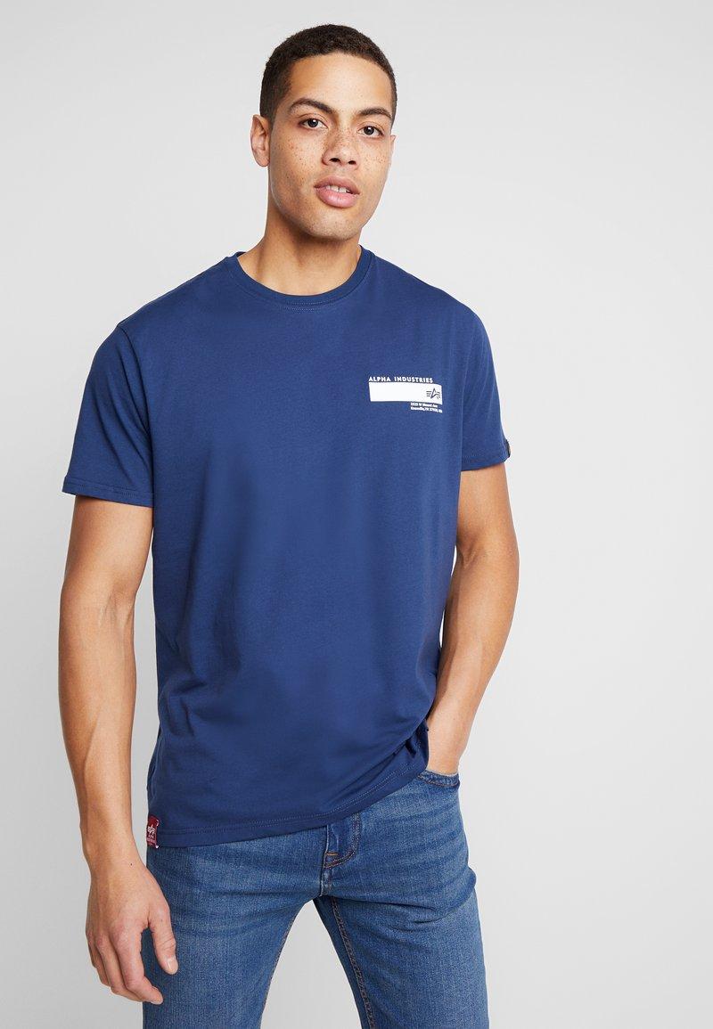 Alpha Industries - Print T-shirt - new navy